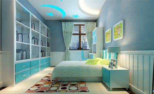 现代简约二居室儿童房装修效果图
