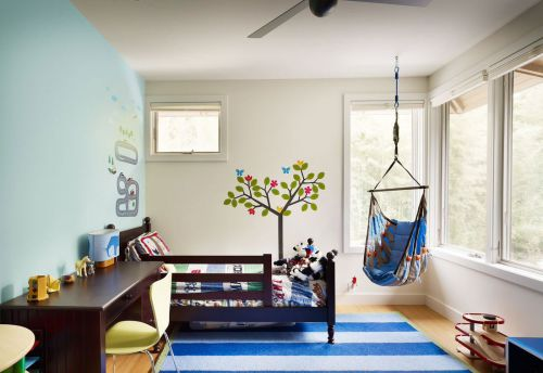 时尚现代风格别墅儿童房装修效果图