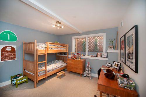温馨暖意现代风格儿童房装修设计