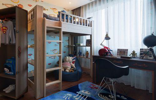 童趣现代简约风儿童房装修效果图