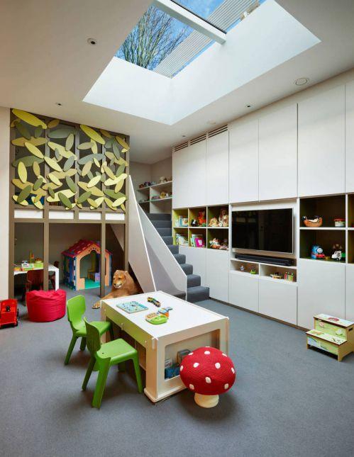 奢华现代风格别墅儿童房装修效果图