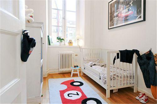现代简约二居室儿童房床装修效果图欣赏