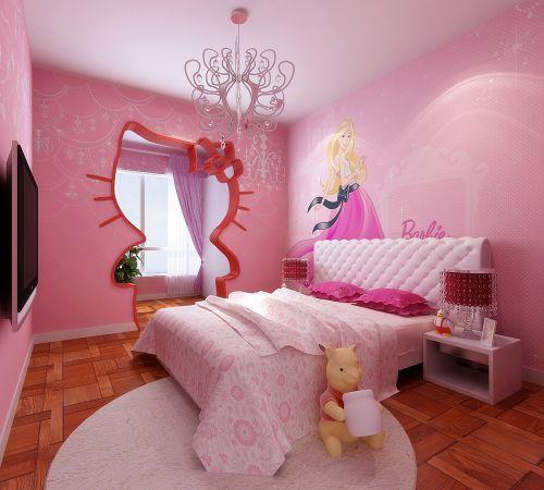 现代风格二居室儿童房装修图片欣赏