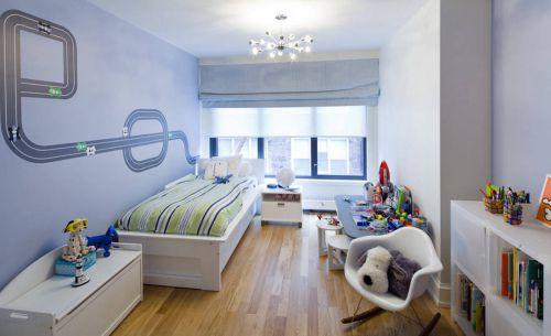 通透现代简约风格儿童房装修效果图