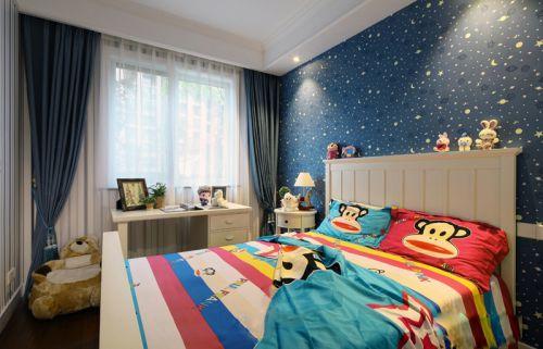 现代风格雅致童趣儿童房设计效果图