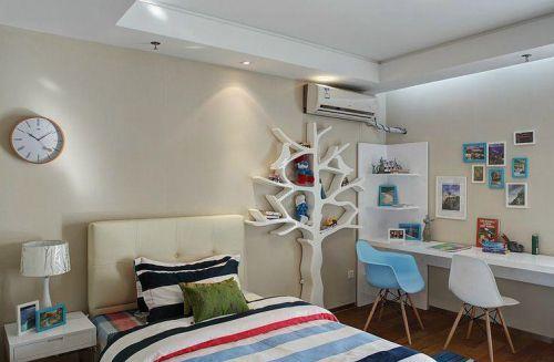 三居室时尚现代儿童房装修效果图