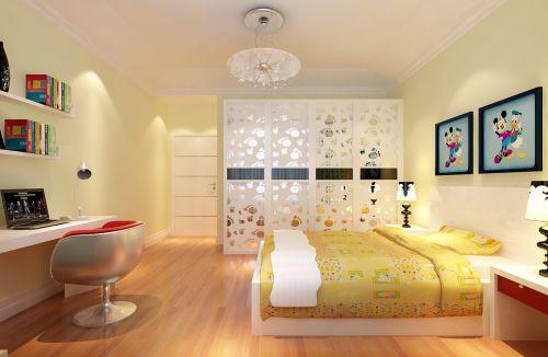 现代简约四居室儿童房装修图片