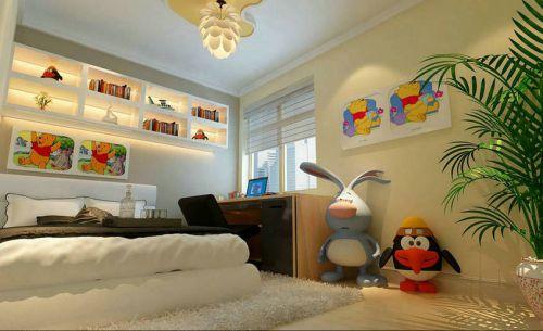 现代简约二居室儿童房装修图片