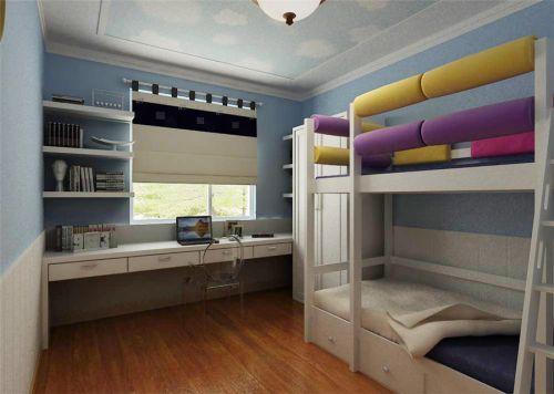 现代简约四居室儿童房床头柜装修图片
