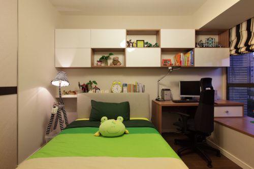 现代简约三居室儿童房装修图片欣赏