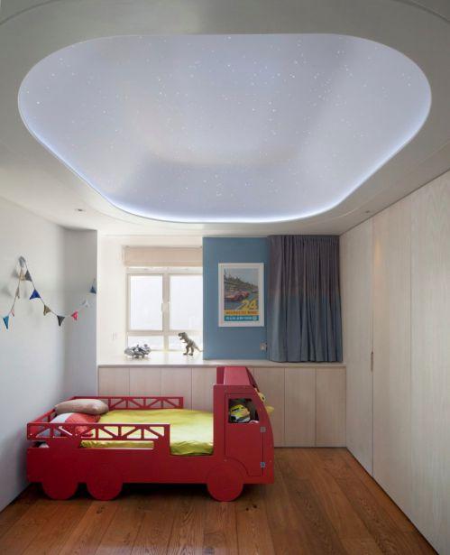 个性现代简约风格儿童房装修效果图