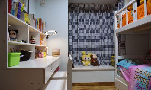 家装现代风格儿童房书桌装修效果图