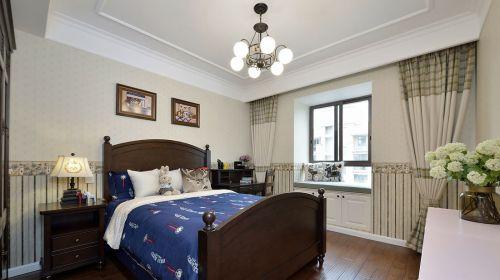 典雅现代风格三居室儿童房装修案例