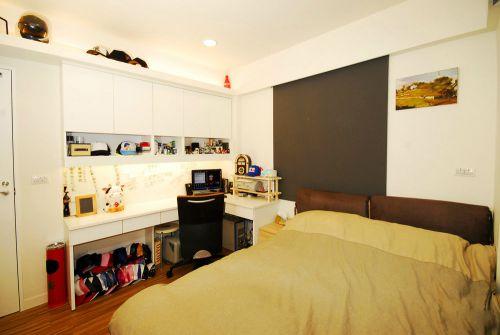 现代简约四居室儿童房装修效果图