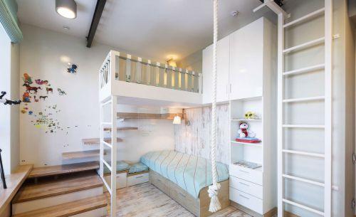 时尚现代风格复式儿童房装修效果图