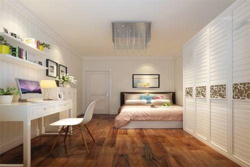 现代简约二居室儿童房婴儿床装修图片