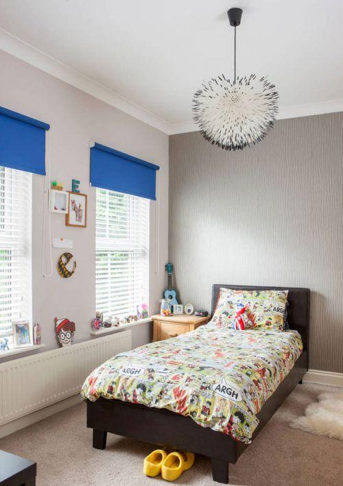 时尚现代风格四居室儿童房装修案例