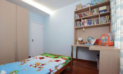 时尚现代风格儿童房书桌装修效果图