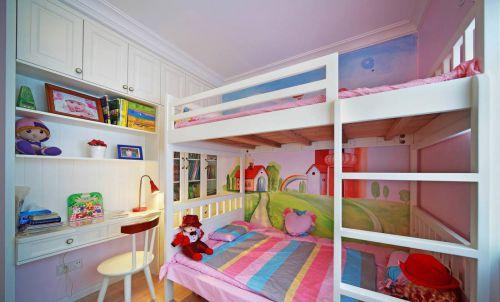 家装现代风格儿童房书桌效果图欣赏