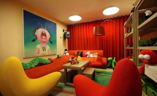时尚现代风格五居室儿童房装修效果图