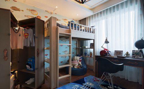 典雅现代风格小户型儿童房装修效果图