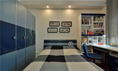 时尚现代风格三居室儿童房装修案例