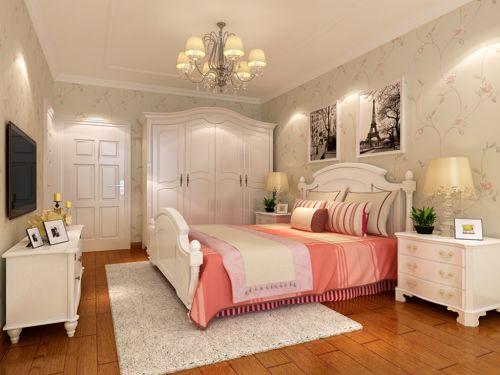 现代简约三居室儿童房婴儿床装修效果图欣赏