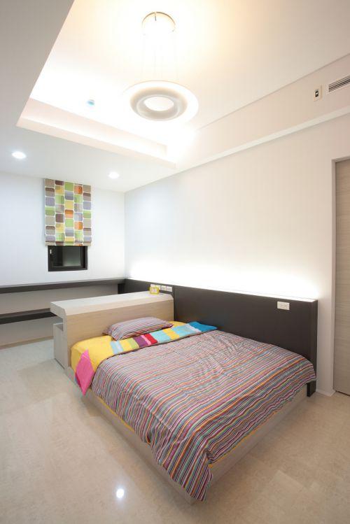现代简约四居室儿童房灯具装修效果图大全