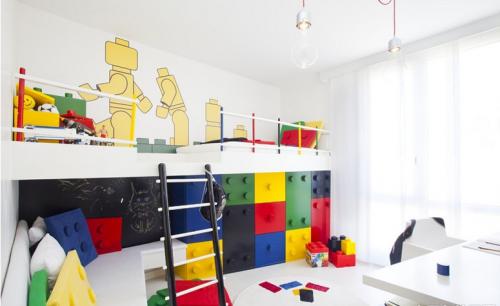 现代简约三居室儿童房装修效果图欣赏