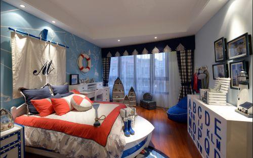 现代简约四居室儿童房装修图片欣赏