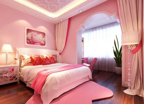 现代简约一居室儿童房装修效果图欣赏