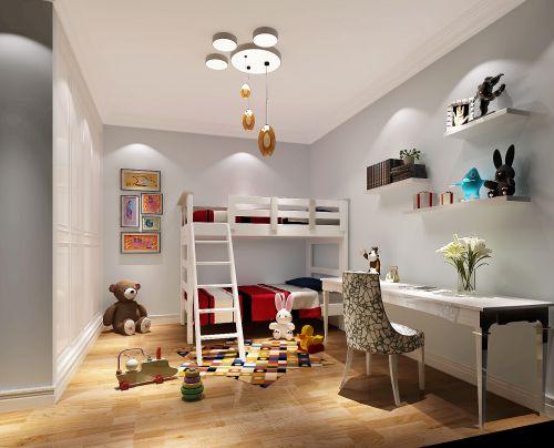 现代简约二居室儿童房吊顶装修效果图大全