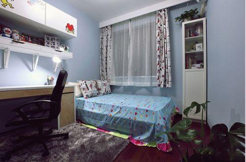 现代简约二居室儿童房装修效果图欣赏