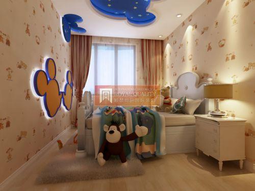 现代简约别墅儿童房装修图片欣赏