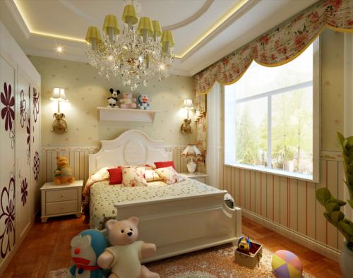 现代简约一居室儿童房装修图片欣赏
