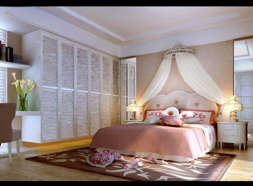 现代简约三居室儿童房装修图片