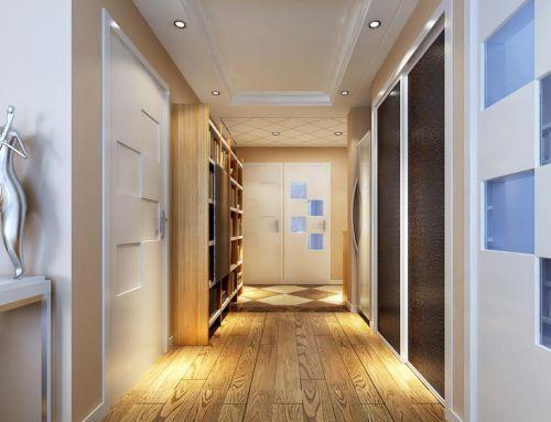 现代简约二居室衣帽间装修图片欣赏