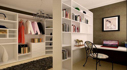 后现代奢华风格四居室衣帽间装修图片