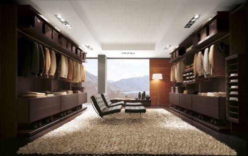 225平雅致别墅现代风格衣帽间装修案例图