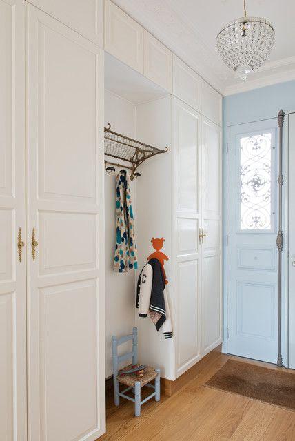 典雅现代风格四居室衣帽间白色衣柜美图欣赏