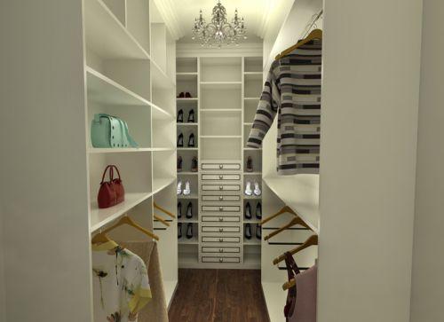 现代简约五居室衣帽间窗帘装修效果图欣赏