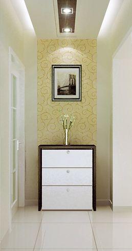 现代简约二居室衣帽间走廊装修效果图欣赏