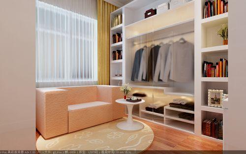 现代简约三居室衣帽间装修效果图欣赏