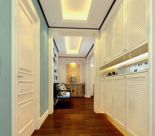 现代简约二居室衣帽间吊顶装修效果图