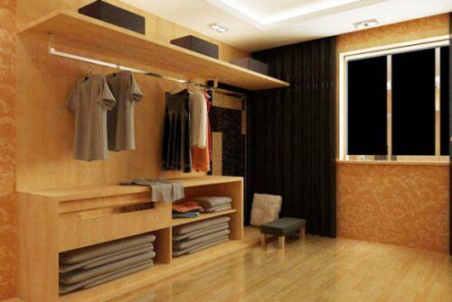 现代简约一居室衣帽间装修效果图欣赏