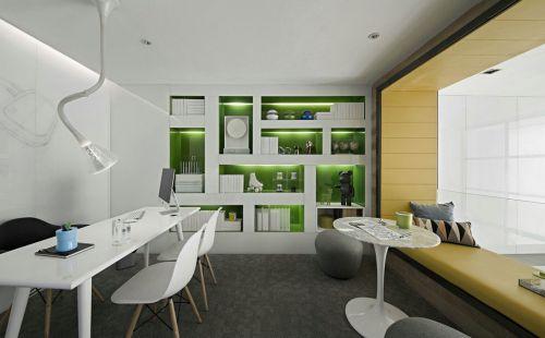 现代风格小户型环保装修书房效果图