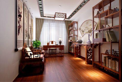 后现代风格三居室书房装修效果图欣赏