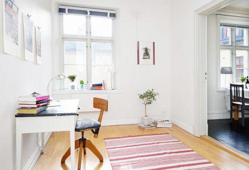 现代简约二居室书房装修效果图欣赏