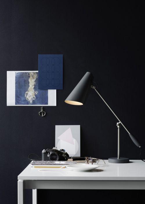 黑色现代风摄影师家书房装修效果图