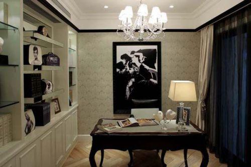 现代简约二居室书房装修图片欣赏